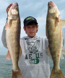 Lake erie fishing reports western basin walleye bass perch for Port clinton fishing report