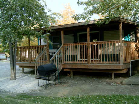 Lodging for charter fishing groups on Lake Erie