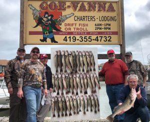 Lake-Erie-Fishing Charter Boats